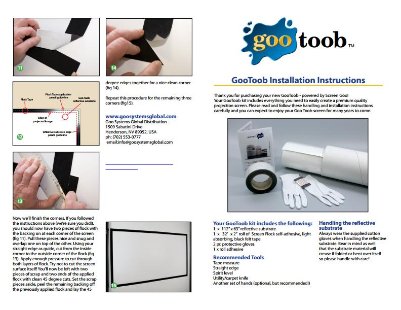 gootoob instructions