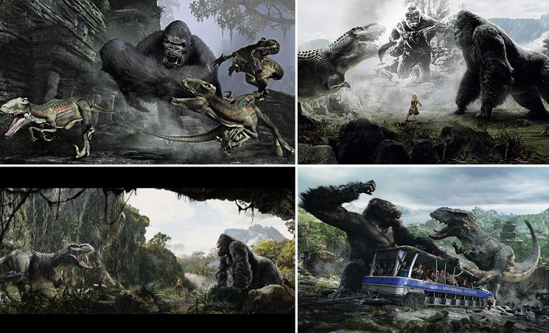 King Kong 360 3d Universal Studios Hollywood An error occurred